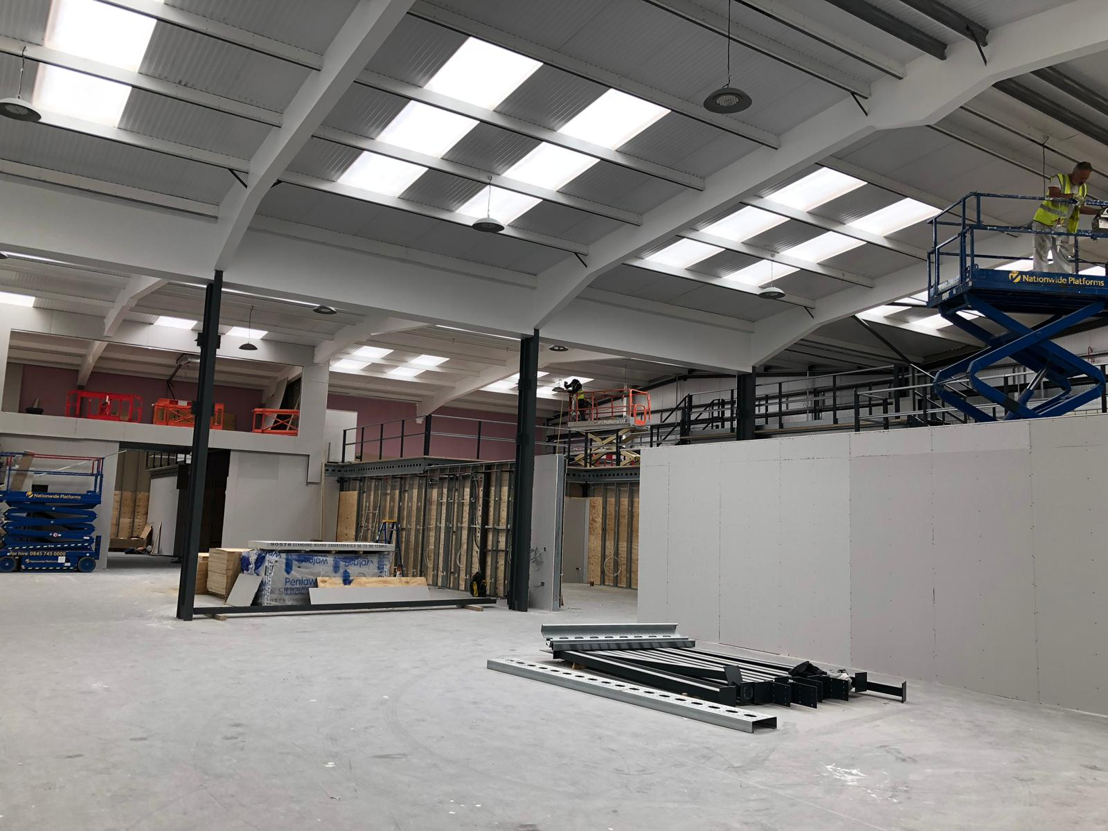 Work Progressing On Schedule At Mowlem Trading Estate In